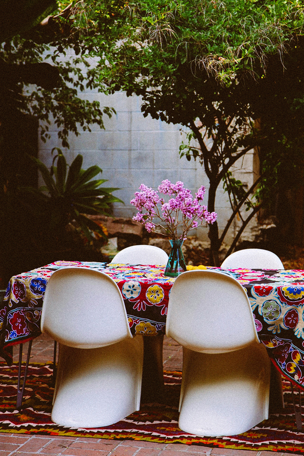 From the queen of bohemian decorating, Justina Blakeney.