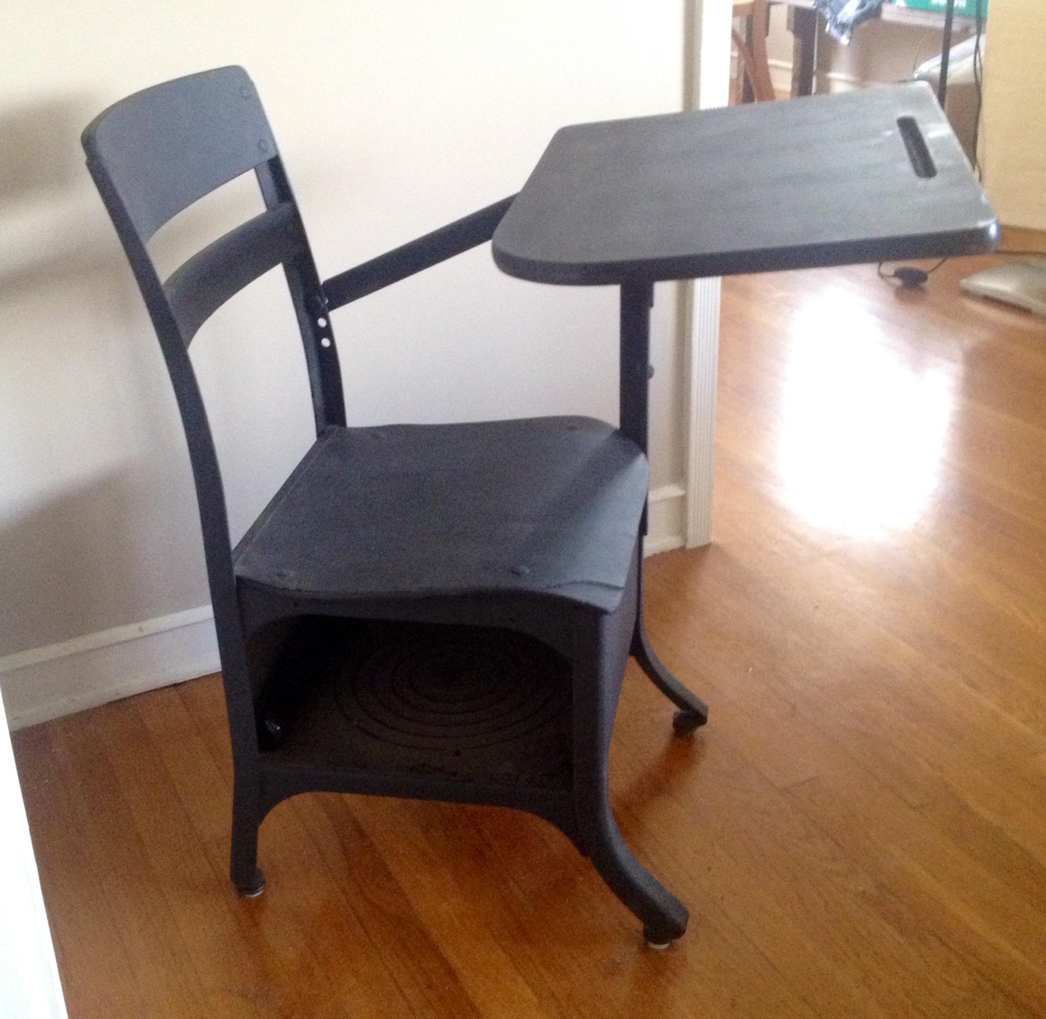 Black desk 3