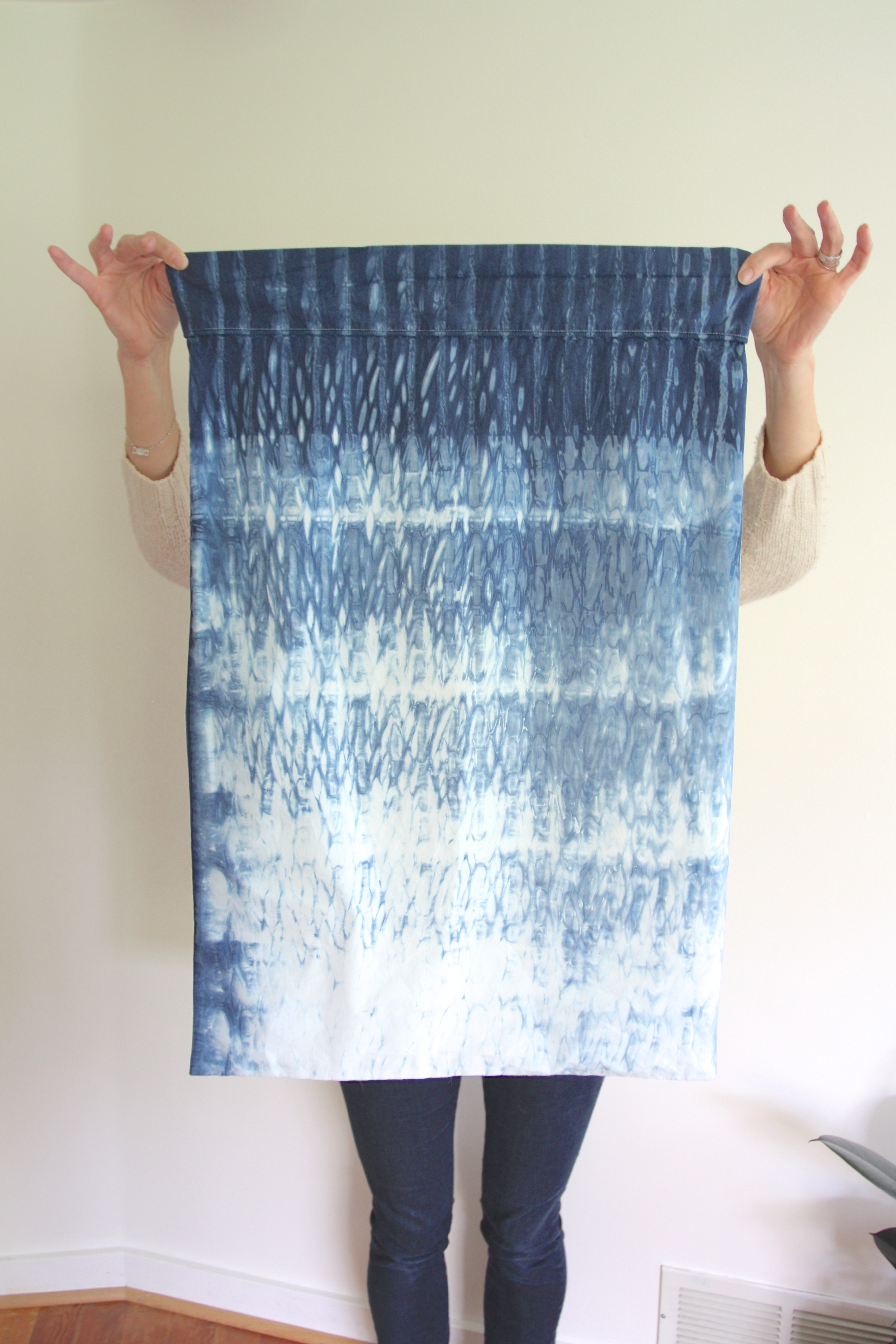 I Tried It Shibori Dyeing Red House West