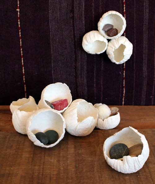 Paper Clay Barnacle DIY from Design Sponge