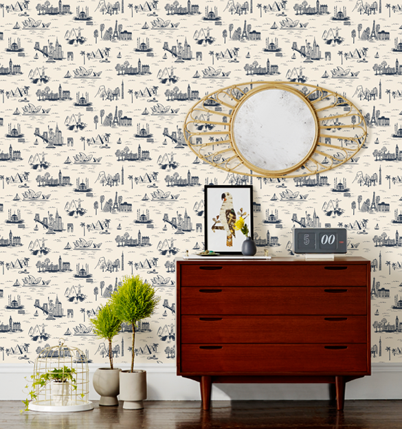 Rifle Paper's City Toile had me at hello.