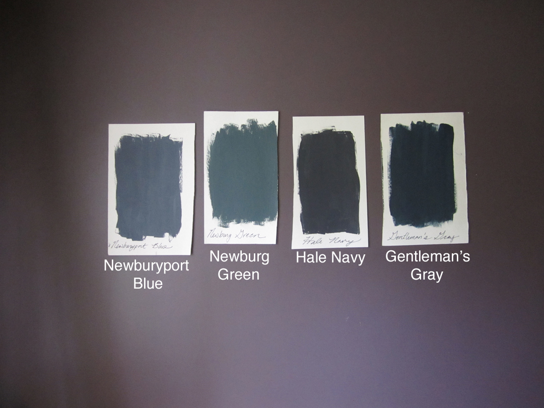 Paint swatches with text copy