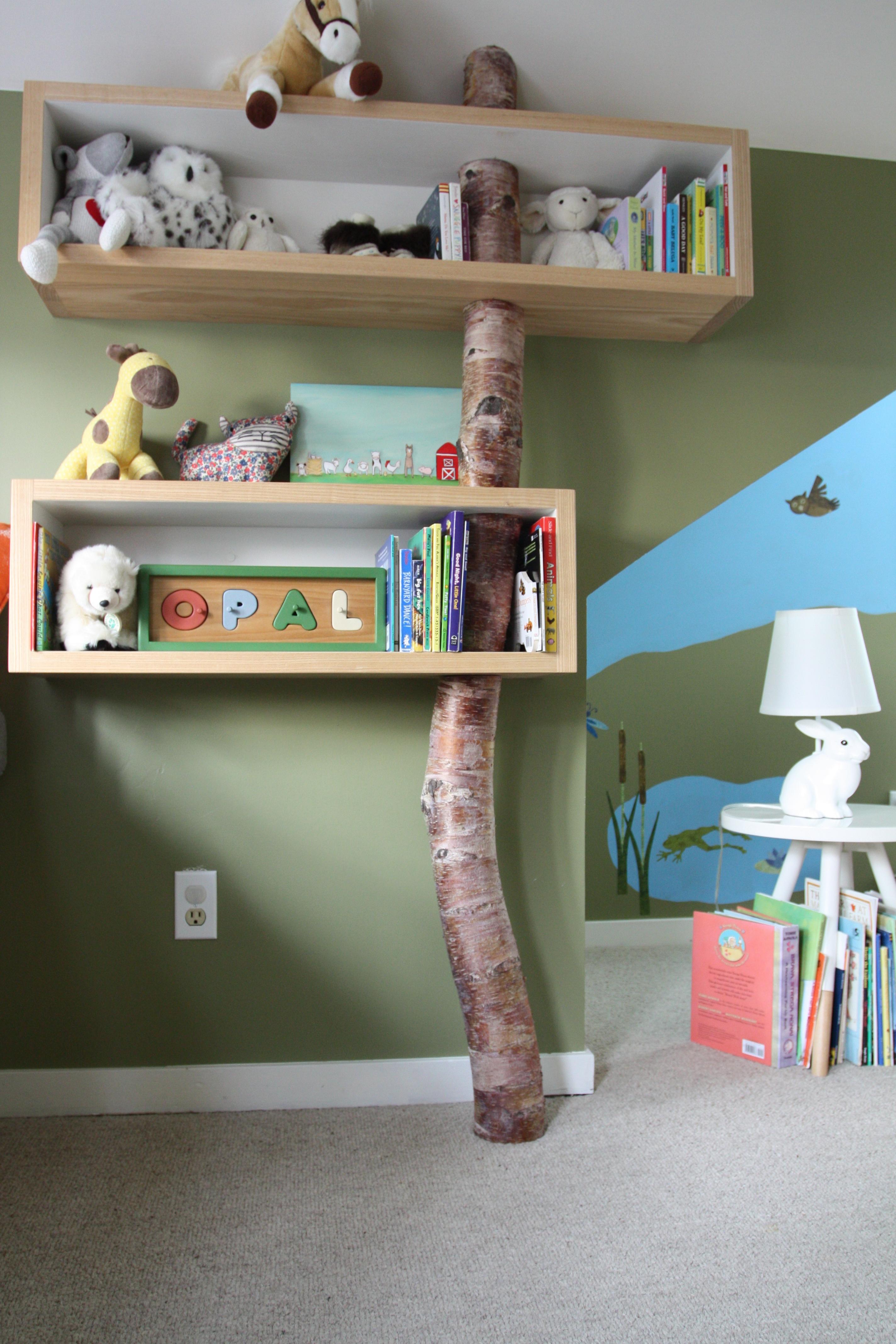 Opal's shelves