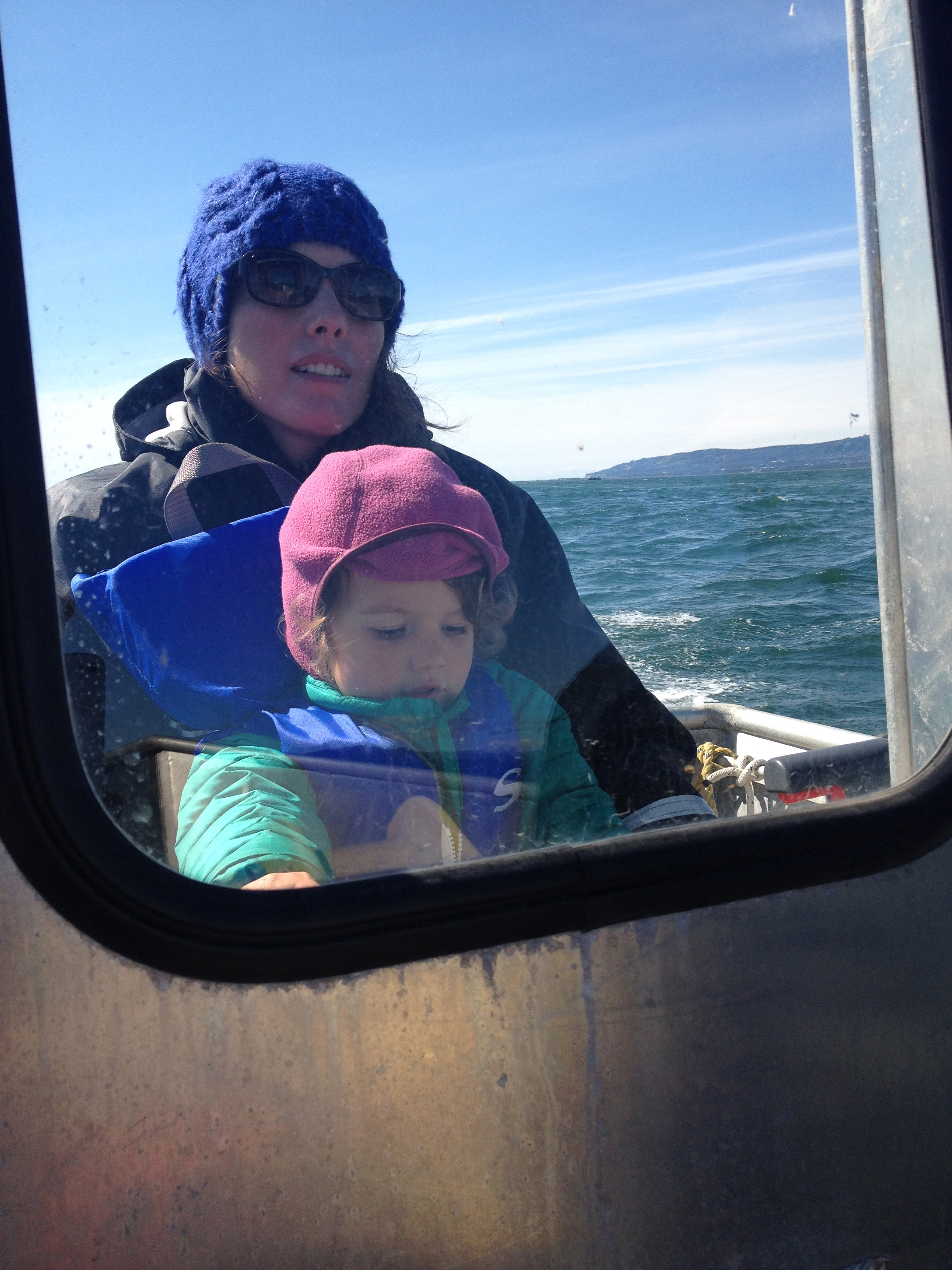 Halibut Cove is only accessible by water--Opal loves to drive the boat!