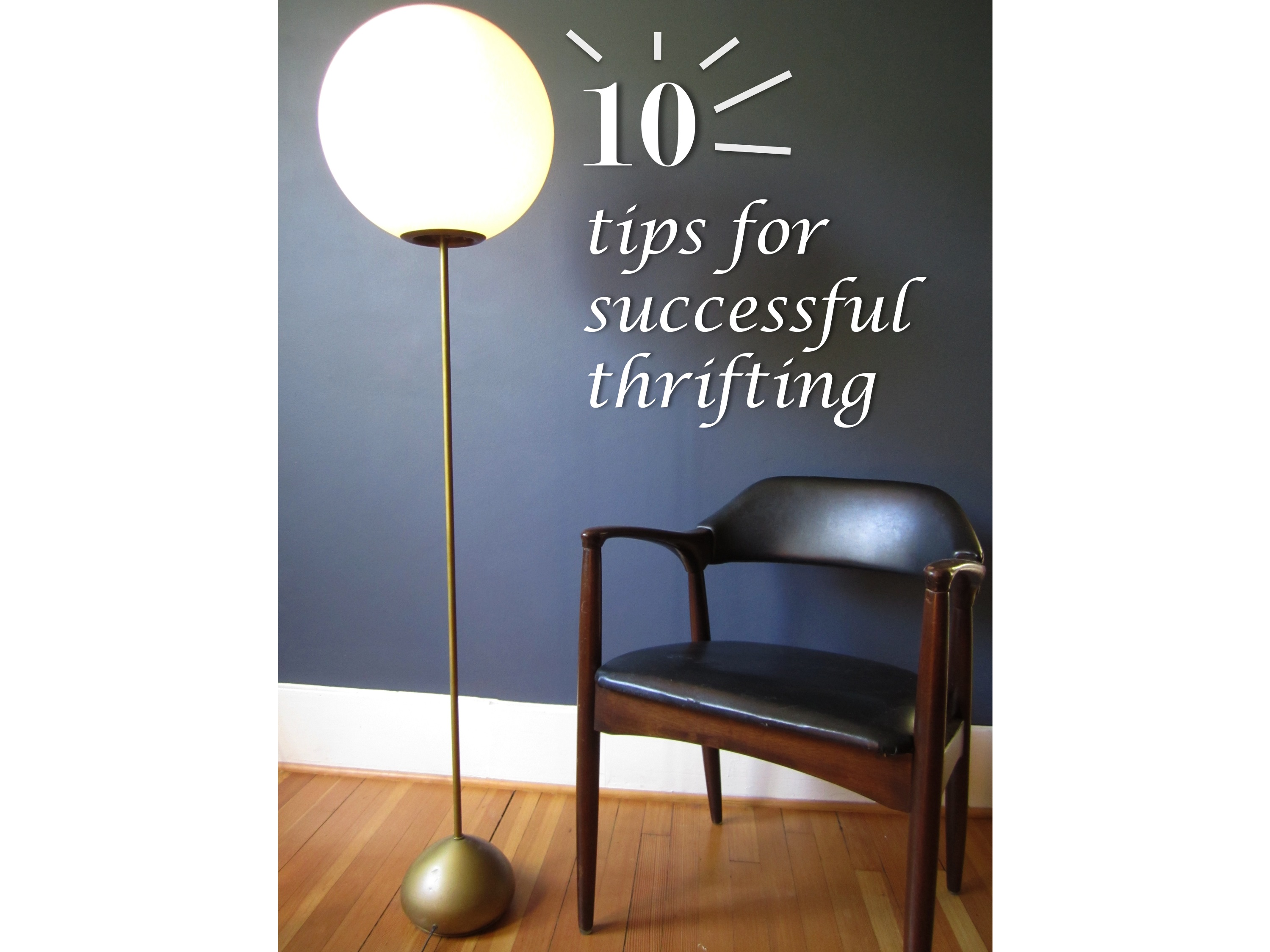 10 tips for successful thrifting