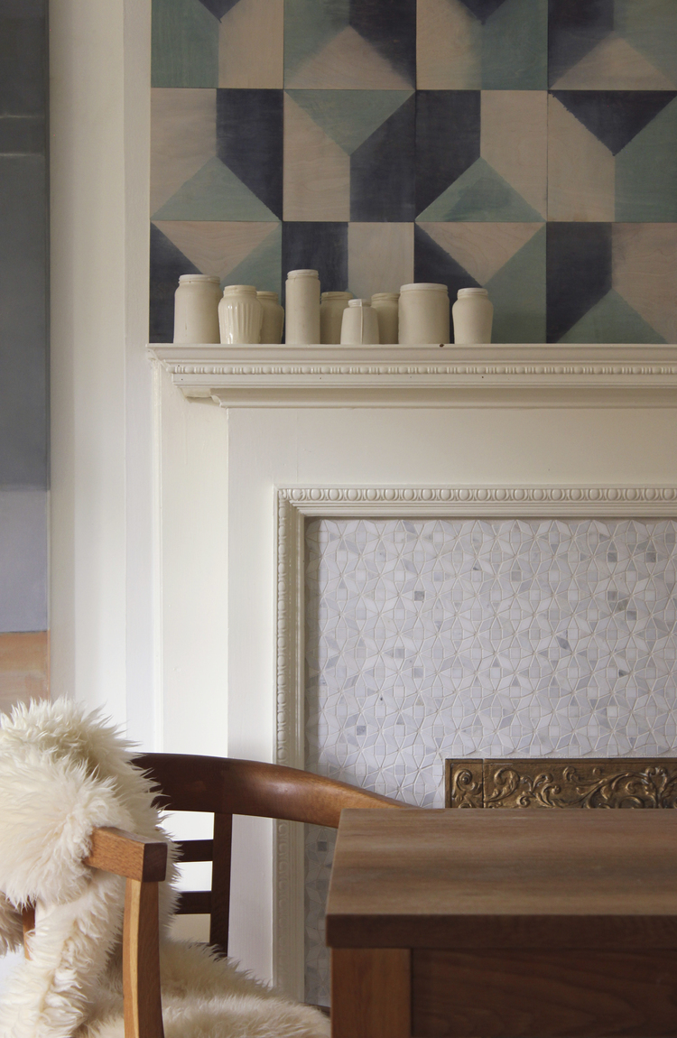 Marion House wall tiles