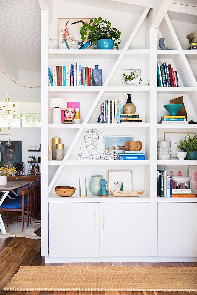 Emily Henderson bookcase