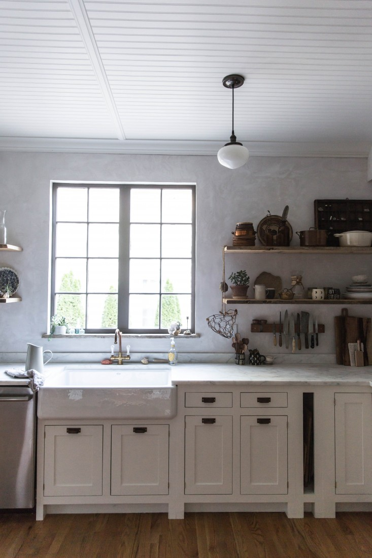 We are big fans of this kitchen remodel over on remodelista the