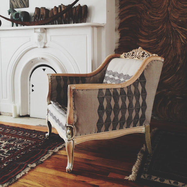 Ariele Alasko Chair Reupholstery