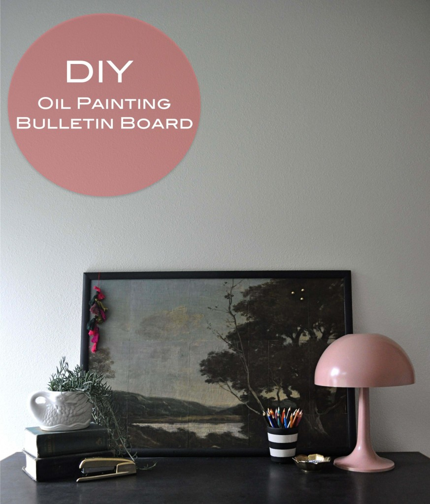 Red House West || Decoupaged Bulletin Board