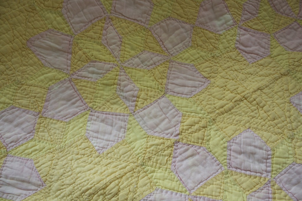 Red House West || DIY Overdye Quilt