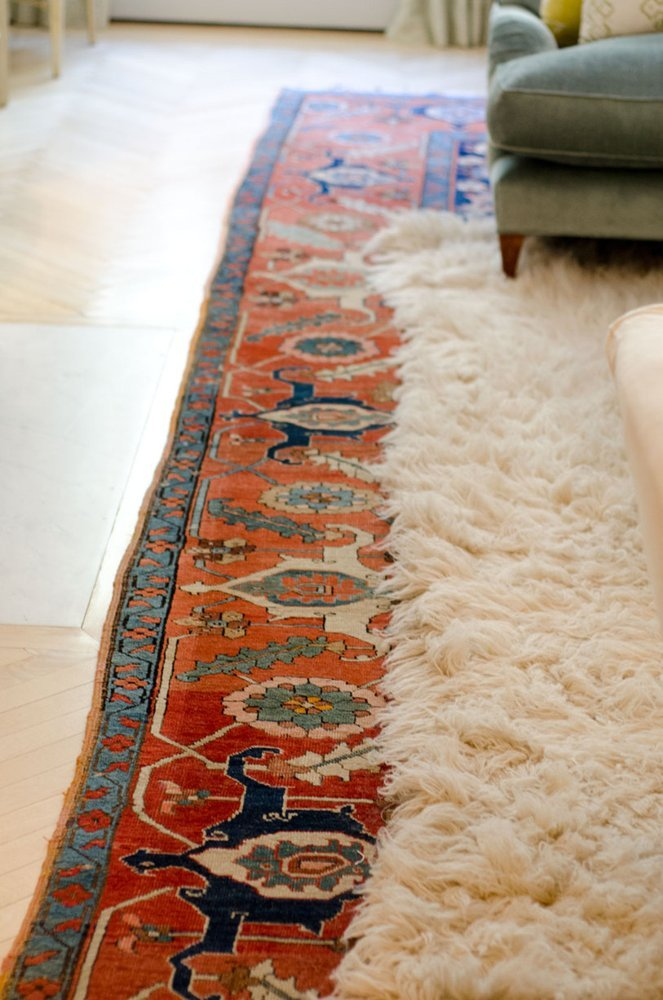 Look We Re Loving Layered Rugs Red House West