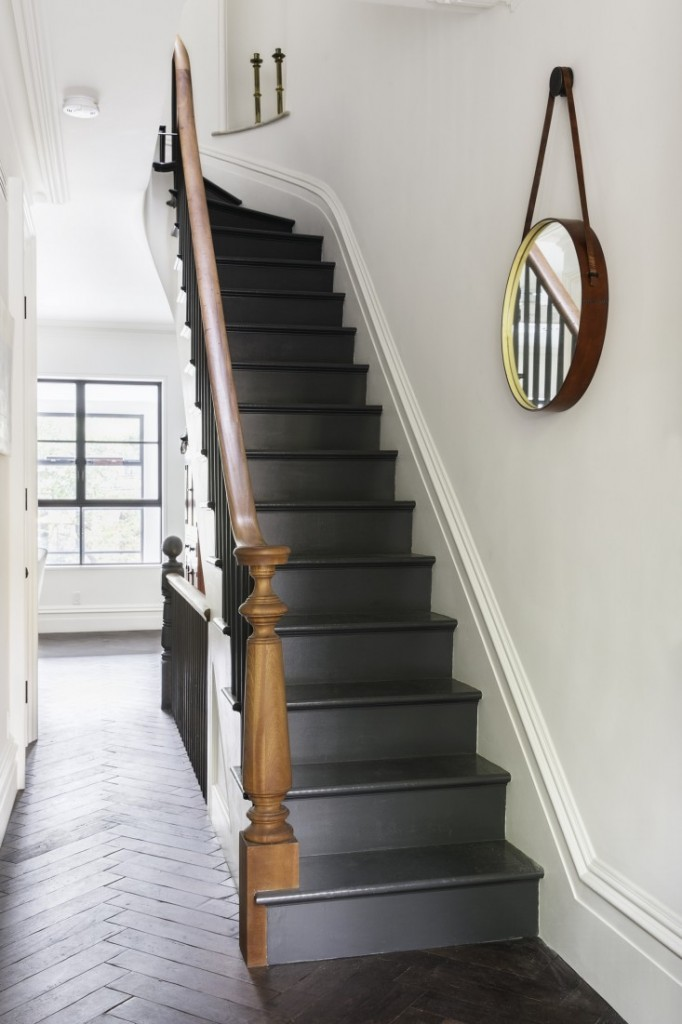Painted Stairs Red House West