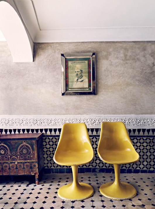 Red House West || Tile in Unexpected Places