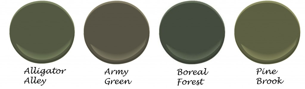 Red House West || Army Green
