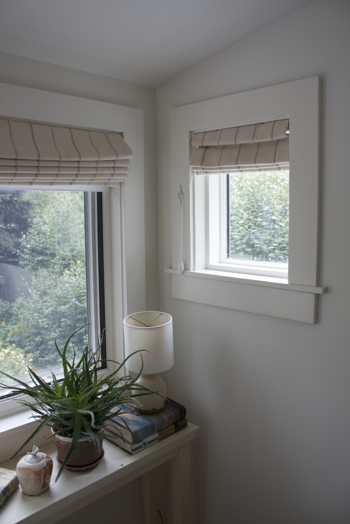 Red House West || The Ups & Downs of Roman Shades